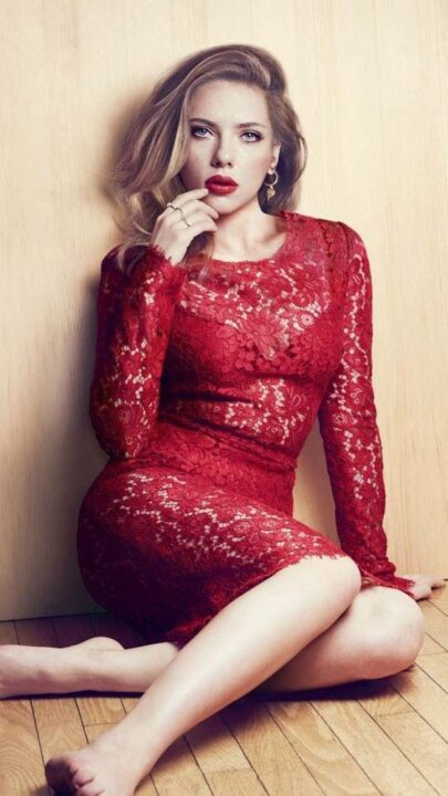 Scarlett Johansson actrices rubias