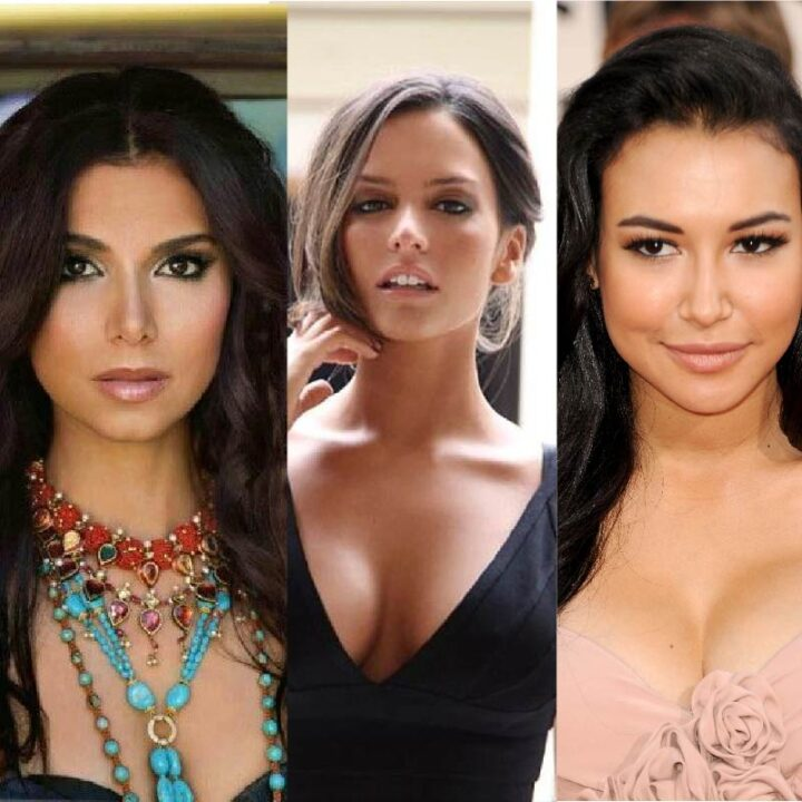 actrices morenas de hollywood