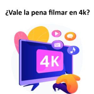 Ilustración de un tv 4k